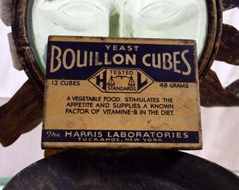 Adorable, Tiny Bouillon Cube Container