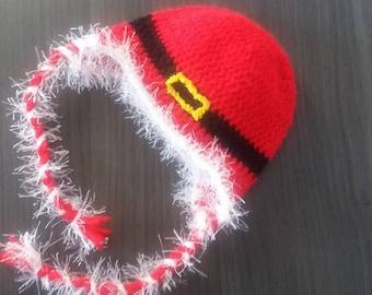 bonnet girl Santa