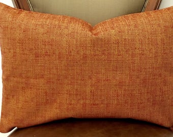 Mustard Red Linen Pillow Cover, Linen Pillow, Linen Cushion, Linen Case, Decorative Pillow, Linen Pillows, Throw Pillow, Linen Pillow Covers