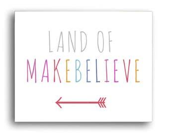 Make Believe Art Digital Download Make Believe Art Print Land Of Make Believe