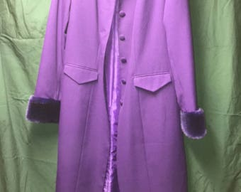 Roamans Purple Long coat