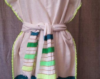 Yaya Hand Woven Colourful Dress