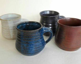 Ceramic stoneware coffee mug