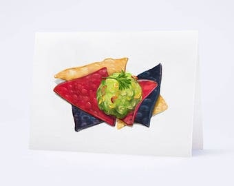 Chips and Guacamole card by Truly Yours Greetings