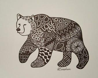 Grrr It's a Bear By Holly's Designs