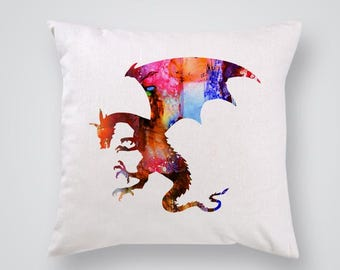 Dragon Pillow Cover Throw Pillow Home Decor
