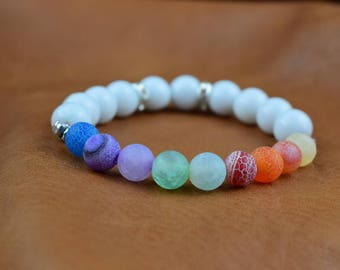Chakra 1-7 Bracelet.Party.Wedding.Spacial Occasion.Hand Crafted.