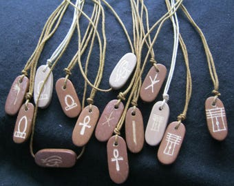 Egyptian Symbol pendants