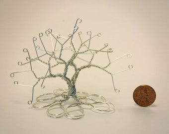 Silver Colored Wire Tree