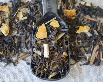 MISS LI: Darjeeling green tea scented with essential oils of lemon and ginger