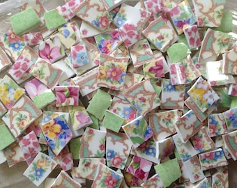 BRoKeN CHiNa MoSAiC TiLeS~~SHaDeS oF sWeeT MiLdreD & MoRe
