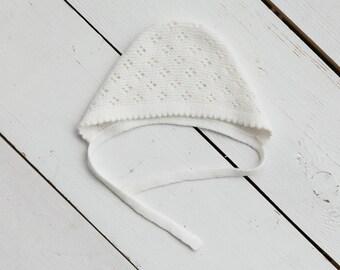 Merino wool baby cap/Hand Knitted baby hat/Newborn Beanie Hat/Baby Boy Hat/Baby Girl Hat/Soft Warm Beanie