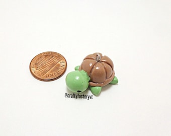 Polymer Clay Turtle Charm