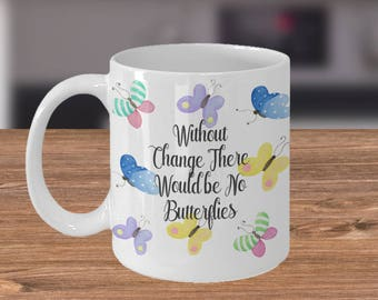 Butterfly Mug - Inspirational Quote