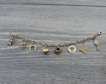 Beauty and the Beast Charm Bracelet