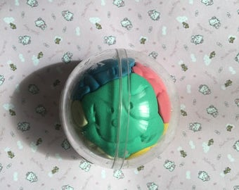 Eraser collection eraser vintage 80 s puzzle animals ball sphere