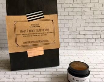 Honey & Brown Sugar Lip Scrub