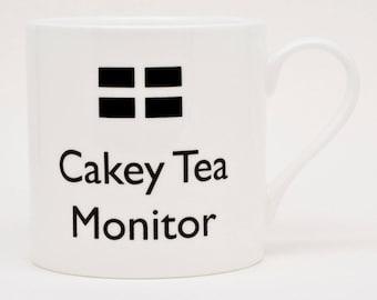 Cakey Tea mug| Poldark Mug | Cornish | Bone China