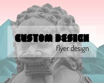 Custom Flyer Design, Flyer, Business Flyer, Business Leaflet, Event Flyer, Restaurant Flyer, Wedding Flyer, Party Flyer