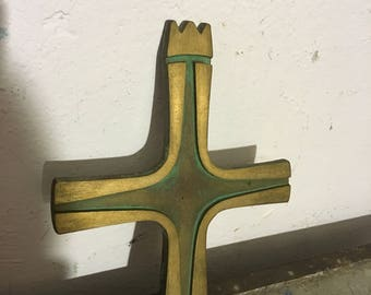 Cross brass 50 he years cross 50's