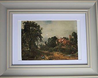"Framed print of John Constable picture ""The Glebe Farm"" 1827"