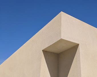 "PALM SPRINGS - ""You Had Me at Blue Sky"" - Desert Modern - Fine Art - Photography Print"