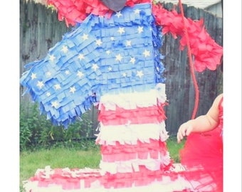 Elmo-4th of July-1st Birthday