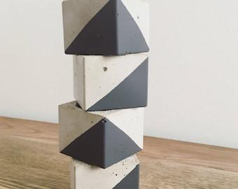 Cubic candleholder