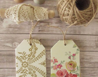 Anna Griffin Luggage Tags / French Country Luggage Tags / French Style Tags / French Farmhouse Style Tags / Floral Tags / french Floral Tags