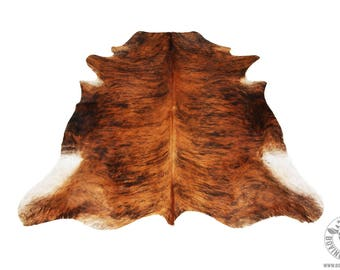 """Genuine """"Brindle"""" Cowhide imported from South America"""
