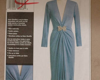 Elegant 40's era Inspired  dress  sz 16- 18- 20-22