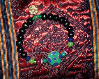 Wrist Mala Yoga Bracelet Guru Beads