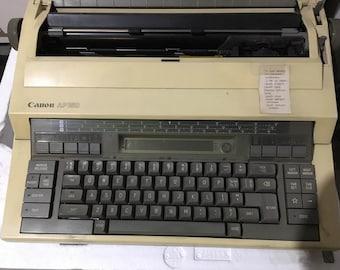 Typewriter - Canon AP150