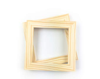 6x6 unfinished wood frame wholesalebulk unfinished wood frames 6x6 open frames