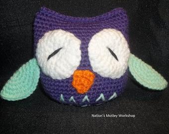 Crochet Owl Plush