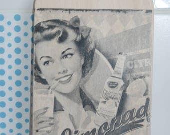 "Cutting board vintage ""Lemonade"""