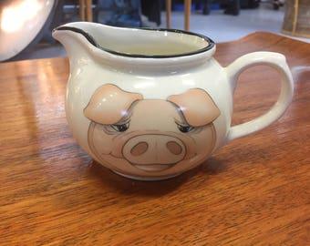 Arthur Wood Pig Milk Jug