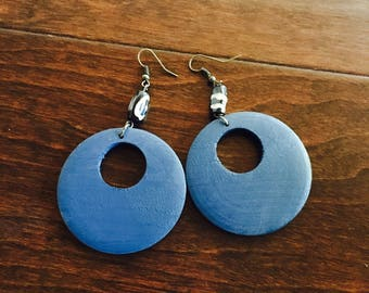Blue circles with accents