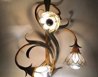 Florentine Wall lamp around 1950. Wall lamp | Italian design | lamp | Mid century lighting