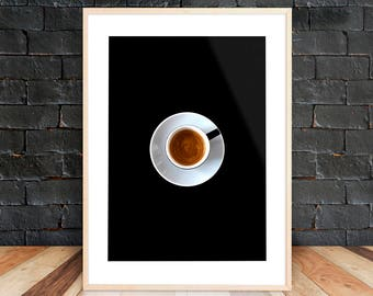 Printable Coffee Lover Poster, Coffee Poster Print, Coffee Sign Decor, Coffee Bar Sign, Kitchen Decor, Coffee Poster Art, Kitchen Printable