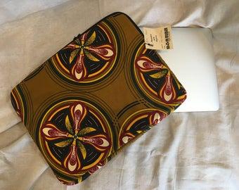 "Handmade durable cotton padded 13"" Laptop case"