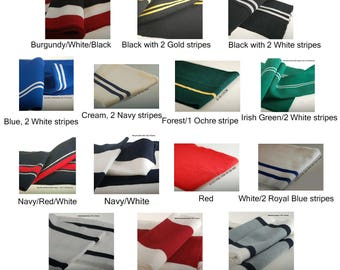 Stripes Pattern Knitted Waistband Rib Welt for Cuffs or Waistband & Neck Band Ribs for Jackets, Bombers or any Apparel Garments for Trimming
