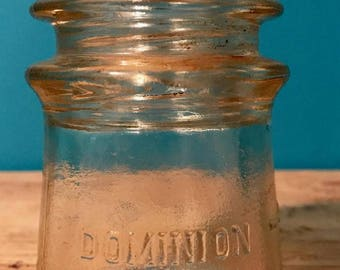 Dominion Clear Glass Insulators