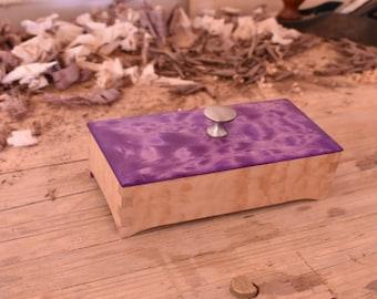Handmade Curly Maple Box