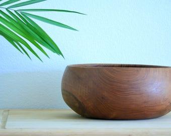MID CENTURY BOWL- Goodwood Teak Bowl- Large