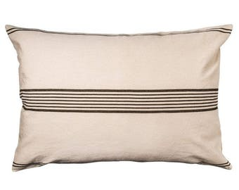 Earth Middle Stripe Pillow