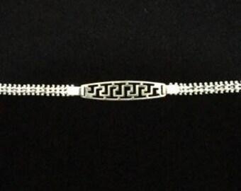Beautiful Women Sterling Silver Bracelet Mexico .925