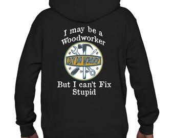 DIY Dad Workshop Black Hooded Sweatshirt