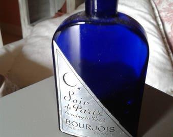 """Evening in Paris"" of Bourjois perfume bottle"