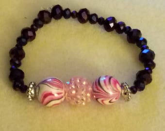Pink and Purple Sparkle